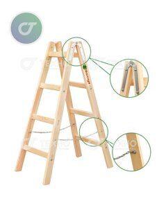 лестница дерево с выносками тт